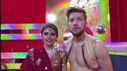 Михаела и Светльо във филмовата седмица - Dancing Stars (08.04.2014г)