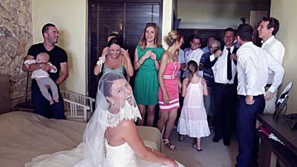 Французин си взема Българка за жена ! Смях! Видеозаснемане Красимир Ламбов