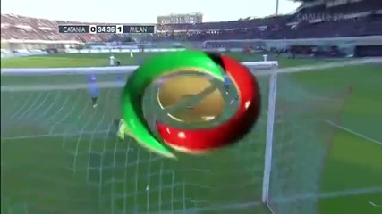Катания 1:1 Милан (31-03-2012 г.)