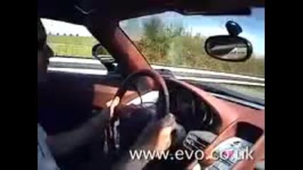 carrera gt vs. ferrari enzo vs. pagani zonda bugatti veyron