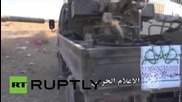 Syria: Syrian military releases explosive Latakia operation footage