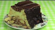 Сочна торта с кроасани и рула