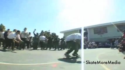Невероятни скейтборд трикове (hd)