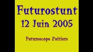 stunt Moto Futuroscope Poitiers V.2 en echappement libre ...