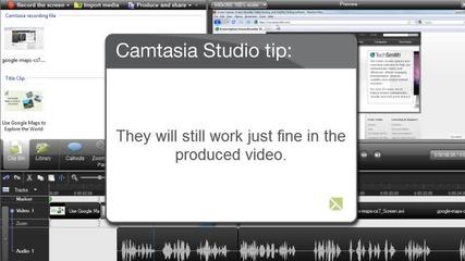 Как се работи с Camtasia studio 14 част
