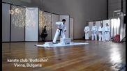 "Карате клуб ""будошин"" демонстрация (шивари) 19.12.2015"