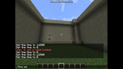 Minecraft-заря