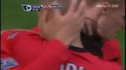 Манчестър Юнайтед 5 - 0 Уигън Димитър Бербатов Гол *hq*
