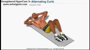 ефективно упражнение за плочки на корема