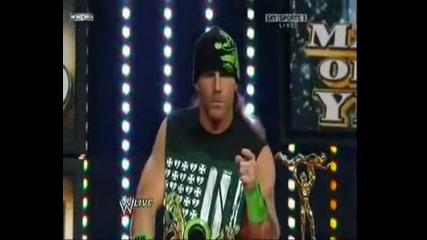 shawn michaels retuns wrestlemania 27