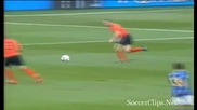 първият гол на Бразилия срещу Холандия
