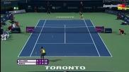 Serena Williams vs Belinda Bencic 1/2 Toronto 2015 Set-3