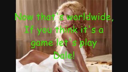 Pitbull feat. Shakira - Get It Started [ Lyric Video ]