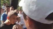 Лудият коментатор на турнирът в София