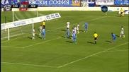 ВИДЕО: Първото полувреме на Славия - Левски