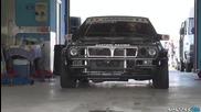 600hp Turbo Lancia Delta Integrale Evo on the Track