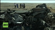 Egypt: Russian investigators get to work at Sinai crash site