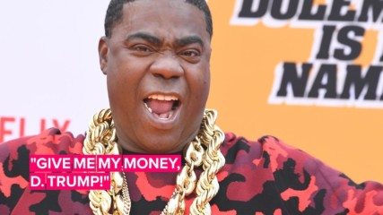 Tracy Morgan reveals he's the Trump whistleblower