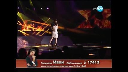 X Factor Теодора Цончева и Иван Радуловски Live концерт - 05.12.2013 г