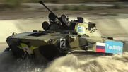 Russia: Tanks on a roll in Novorossiysk during third stage of Army Games