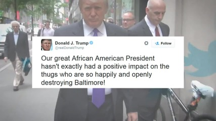 Donald Trump's Thug Tweet
