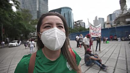 Mexico: Protesters march through Mexico City in tribute to deadly earthquake victims