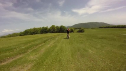 Спускане с колела от връх Богдан - Aдреналин, свобода и красота.