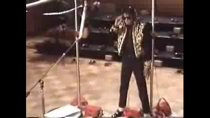 Michael Jackson - We are the world in studio