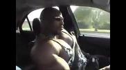 Рони Колман автомобилна катастрофа (пародия)