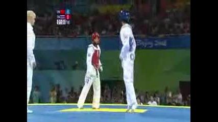 Taekwondo - 49kg Women Chn Vs Tha - Final