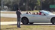 Maserati Grancabrio Hard Acceleration