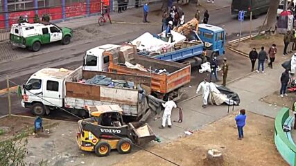 Chile: Tensions mark mass evictions of migrants from Iquique square