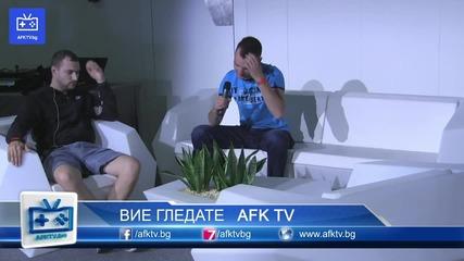 Zing и Andro на Aniventure - Afk Tv