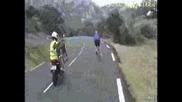 Много яка скрита камера - Tour de France
