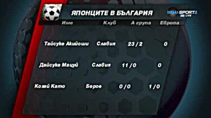 Кои са японците, играли в България?