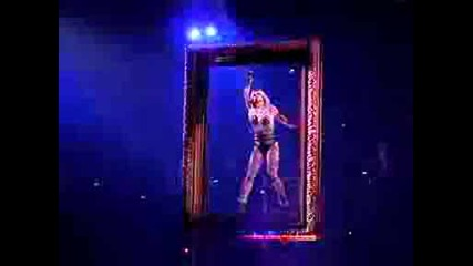Britney Spears The Circus Tour 2009 Live New Orleans - Breathe On Me.avi