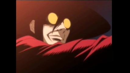 hellsing-him wings of a butterfly