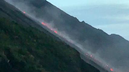 Italy: Stromboli volcanic eruption intensifies
