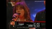 Vip Brother 3 - Финал* Шоуто На Тошето - Влиза Дъщеричката Му. Катрин Пее Детски Спомен*