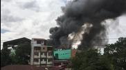 Philippines: Huge blaze sweeps through Manila university campus