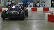 Произведен на 3d принтер автомобил измина първите си метри
