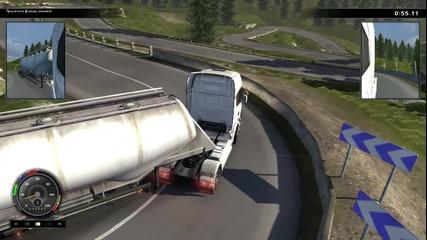 Scania Simulator - Gameplay