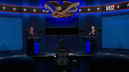USA: Anyone responsible for so many deaths 'should not remain' as President - Biden at final debate