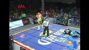 Jeff Jarret, Super Crazy & Abyss vs. Dr. Wagner, Joe Lider & Nicho