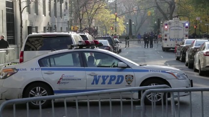 USA: Security heightened at Macy's Thanksgiving Day Parade in NYC