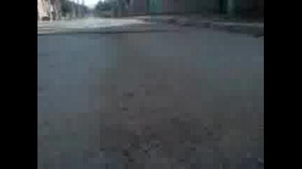 как изглежда пътя от бронята на колата