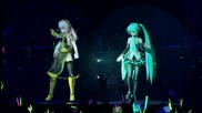 1080p Hd Концерт на Живо, Токио, Hatsune Miku and Megurine Luka - Magnet