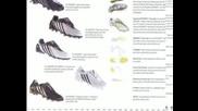 Нови бутонки на Adidas които ще излязат през 2009/2010