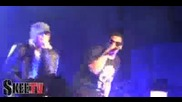 Jay - Z amp Eminem Live On Stage Together performing quotrenegadequot Dj Hero Launch
