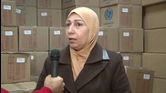 Syria: UNICEF & Palestine Red Crescent team up to distribute winter aid packages